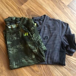 Lot of 2 Boys Russell Shirt size 6-7